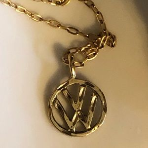 Jewelry - Small gold VW necklace
